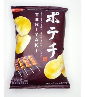 Patatine Giapponese Gusto di Teriyaki - Koikeya Chips Terriyaki - 100g