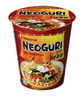 Nongshim Cup Noodles Coreano Neoguri Cup Piccante - 62gr