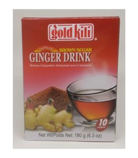 Bevenda allo Zenzero con Zucchero Grezzo - Gold Killi 180g