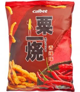 Calbee Chips Griglia di Mais Gusto di Piccante - 80gr
