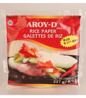 Carta di Riso per Involtini  - Aroy-D 16cm