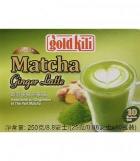 Bevanda Istantanea al Latte Zenzero e Matcha - Gold Kili 250gr