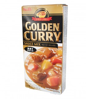 Curry Giapponese Piccante Qualità Golden - S&B 92gr