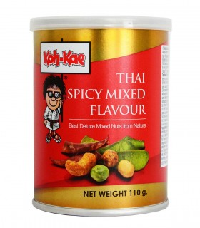 Snack con sapore misto piccante tailandese - Koh-kae 110g