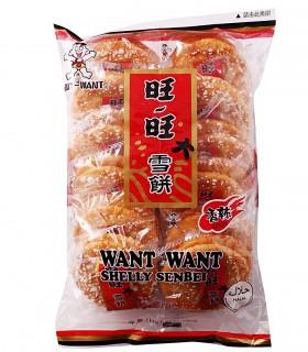 Cracker di Riso Senbei gusto piccante leggero - Want Want 150g