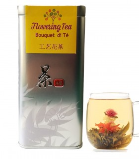 Bouquet di Tè blooming tea flowers - Save 15 fiore di te