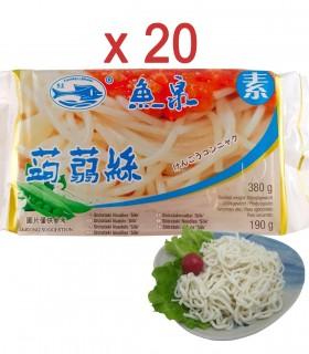 Spaghettoni di Konjac Grossi 20 Confeizioni - Fishwellbrand 380 g