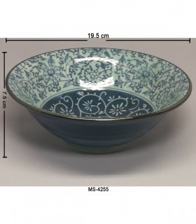 Ciotola Ramen in Porcellana Piccola Giapponese -  Decorazioni Fiore Ciana