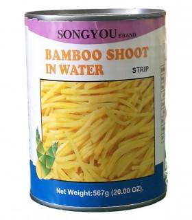 Germogli di Bambu Tagliato a striscia in Acqua - SongYou 304g