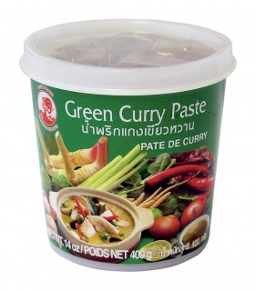 Curry Verde in pasta Tailandese - Cock Brand 400g
