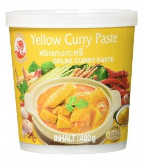 Curry Giallo in Pasta Tailandese - Cock Brand 400g