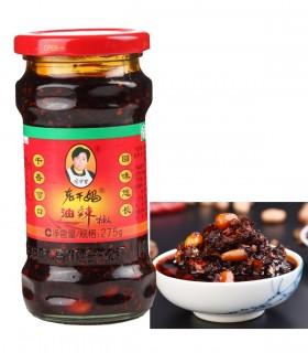 Salsa Piccante in Olio con Arachidi - Lao Gan Ma 275g