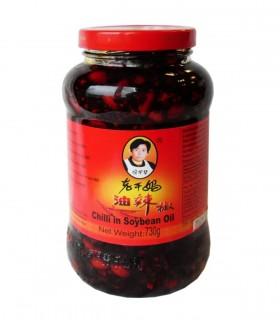 Salsa Piccante In Olio Con Arachidi - Lao Gan Ma 740g