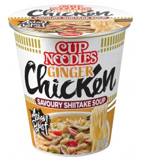 Nissin Cup Noodles Gusto Chicken Ginger - 63g